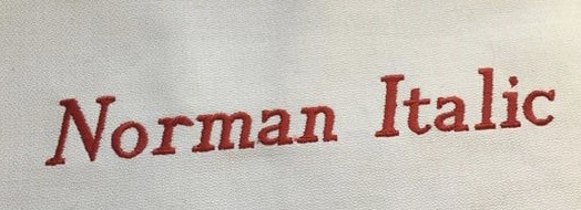 Norman Italic